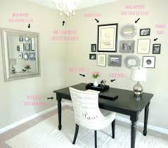 wall decor ideas for office. Unique Ideas Home Office Wall Decor For Work Small Decorating