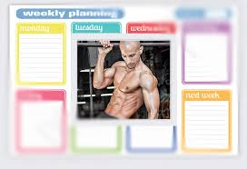 Frank Medrano's One Week Workout Plan