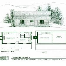 small cabin floor plans with loft open floor plans small home one room log cabin