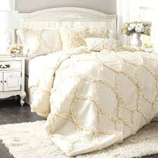 ruffle comforter set the hotel collection ruffle comforter bedding set ivory ruffle comforter twin