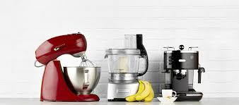 small home appliances. Plain Small A Mixer A Food Processor And Coffee Machine Sit On Bar Intended Small Home Appliances L
