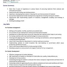 Resume For Purchase Executive Resume Samples Purchase Executive Danayaus 1