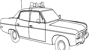 Colouring Page Police Car Coloring Pages Pdf Staranovaljainfo