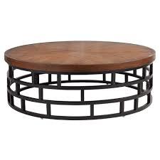 Round Rattan Ottoman Coffee Table Large Round Wicker Coffee Table Bruckner Metaltop Coffee Table