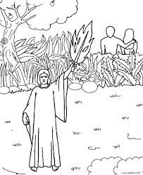 adam and eve in the garden of eden coloring pages printable and eve coloring pages for