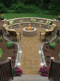 Patio Designs Fire Pits Of The Most Amazing Seating Area Around Pit
