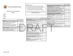 Student Report Card Template Report Card Template 33 Free Word Excel Documents