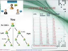Network Marketing Chart Best Mlm Company Plan In India Network Marketing Plan Lowest Cost Home Based Part Time Job