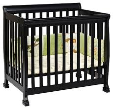 Kalani Mini Crib - Espresso Small Crib