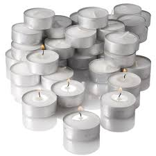 5 Hour Tea Light Candles 5 Hour Traditional Wax Unscented Tea Light Candles Discount Bulk Candles Quality Tealight Candles 125pcs Per Pack