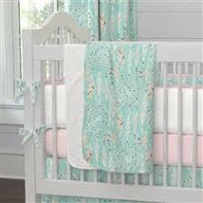 Dream Catcher Crib Bedding Set Dream Catcher Threepiece Crib Bedding Set Carousel Designs 35