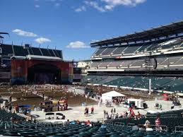Lincoln Financial Concert Seating Chart Lincoln Financial Field Section 108 Concert Seating