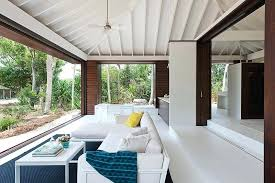 view in gallery living room of tropical beach house simple plans full size