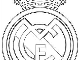 11 Real Madrid Logo Coloring Pages Fc Bayern Colouring Pages