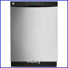 kenmore 13223 dishwasher. pallet-kenmore 24 built-in dishwasher with powerwave spray-stainless steel, 13223 kenmore