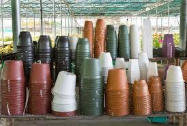 are plastic plant pots recyclable and