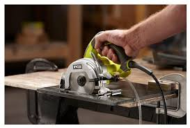 ryobi 4 inch hand held wet tile saw