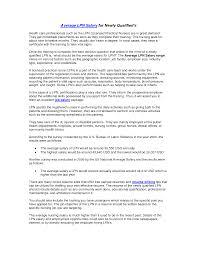 Lpn Resume Examples Gallery of Lpn Resume Template 46