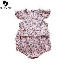 Medoboo Europe Summer Baby <b>Girls</b> Romper Cotton Newborn ...