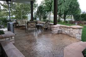 10 Cool Stamped Concrete Patio Ideas For Your Patio Garden HGNVCOM
