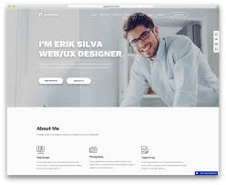 Personal Resume Website 100 Best VCard WordPress Themes 100 For Your Online Resume Colorlib 17