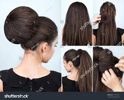 Hair Style With Volume hairstyle tutorial volume bun chignon hairstyle stock photo 4902 by stevesalt.us