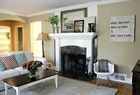 rustic living room wall decor. Rustic Living Room Wall Decor Paint Colors For With Fireplace Idea Decorating