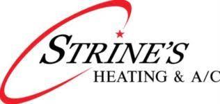 york ac logo. strine\u0027s heating york ac logo