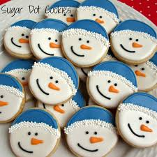 round christmas sugar cookies.  Cookies Round Christmas Sugar Cookies 17 With