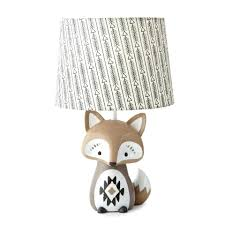 taupe lamp shades baby bailey charcoal arrow print lamp shade and taupe fox shaped lamp base taupe lamp shades