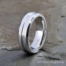 arcadia wedding band. cobalt wedding band mens grooved by lalaserengraving arcadia