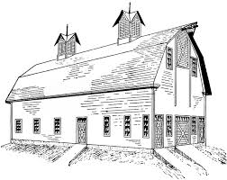 Image result for clipart barn silhouette