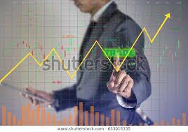 Joez Stock Chart Businessman Analyzes Risk Management Stock Market Stock
