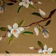Magnolia Design Center Atlanta Amazon Com Hamilton Fabric Jill Seale Magnolia Flax Fabric