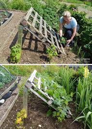 diy pallet cuber trellis re purpose a wood pallet into a quick and