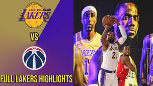 Lakers vs Washington Wizards | Lakers Highlights | NBA Bubble in Orlando  2020