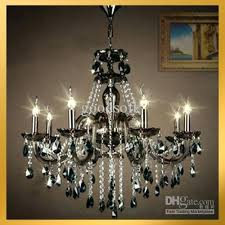 fabulous black crystal chandelier amp clear pendant lamp hanging style table modern black chandeliers crystal