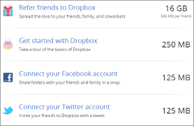 How To Get The Most Free Space On Dropbox Box Skydrive More