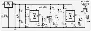 infrared motion sensor circuit diagram images infrared proximity detector circuit diagram electronic circuits