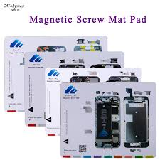 Magnetic Screw Mat For Iphone X 8 7 6s Plus Lcd Screen