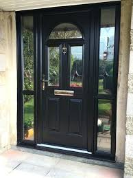 front door with side panels add a touch of glamour to your home with our composite