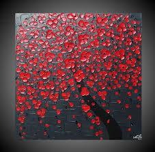 acrylic canvas painting ideas abstract acrylic painting on canvas art cherry