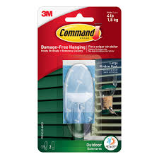 command 3 piece large clear outdoor window hook 17093clr aw the home depot