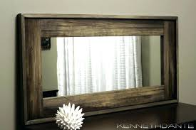 wood wall mirrors. Full Size Of Wall Mirrors Cherry Wood Framed Amazing Pictures Mirror Bathroom Bath The Home
