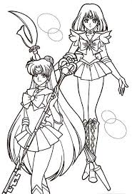 Small Picture Sailor Coloring Pages Perfect Sailor Moon Poster Coloring Page