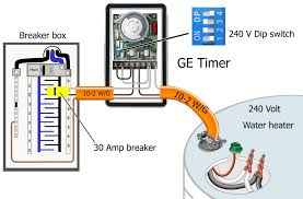 how to wire ge 15207 timer with electric hot water heater wiring how to run sprinkler wire how to wire ge 15207 timer with electric hot water heater wiring diagram