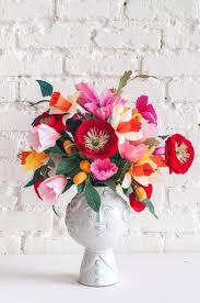 Tissue Paper Flower Centerpieces Paper Flower Centerpiece Diy Tissue Paper Flower