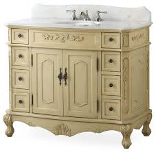 42 fairmont antique beige bathroom vanity