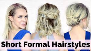Elegant Prom Hair Style prom hairstyles for short hair youtube 5510 by wearticles.com