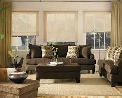 Living Room Sofas Furniture Brown Leather Furniture In Living Room Khabarsnet